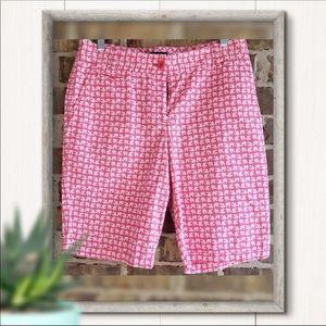 Talbots Fish Bermuda shorts